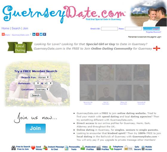 Dating Guernsey